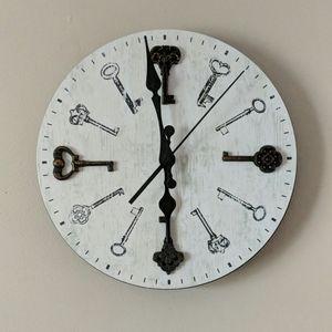 Threshold antique key clock